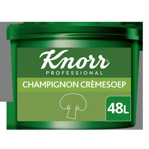 Knorr Voordeel Champignon Crèmesoep Poeder opbrengst 46L -