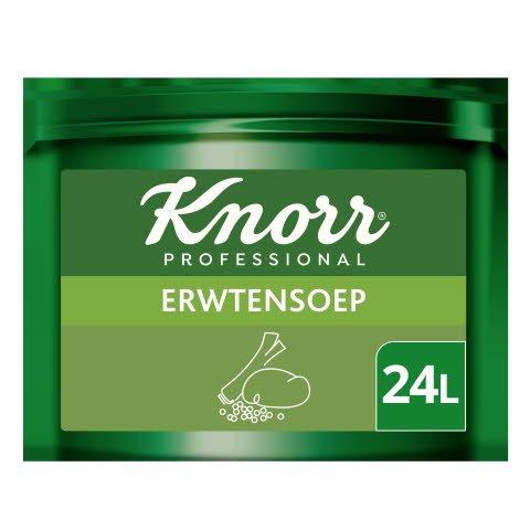 Knorr Voordeel Erwtensoep Poeder opbrengst 24L -