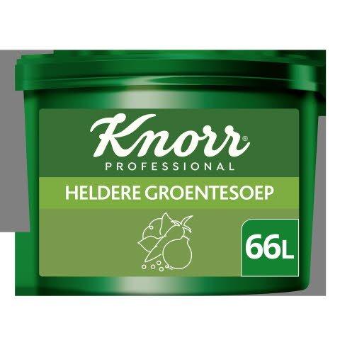 Knorr Voordeel Heldere Groentesoep Poeder opbrengst 66L -