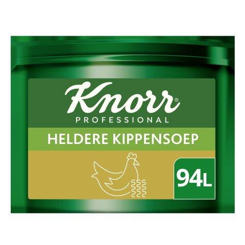 Knorr Voordeel Heldere Kippensoep Poeder opbrengst 85L -