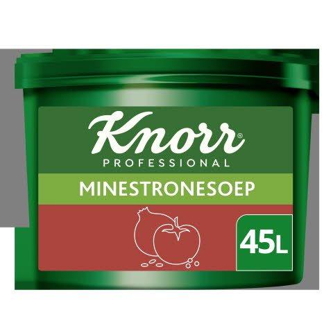 Knorr Voordeel Italiaanse Minestronesoep Poeder opbrengst 45L -