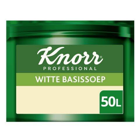 Knorr Voordeel Witte Basissoep Poeder opbrengst 50L -