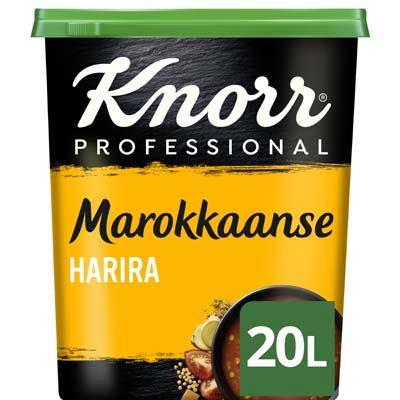 Knorr Wereld Marokkaanse Harira Poeder opbrengst 20L -