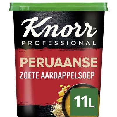 Knorr Wereld Peruaanse Zoete Aardappelsoep Poeder opbrengst 11L -