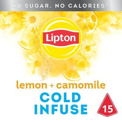 Lipton Cold Infuse Lemon Camomile 15 zakjes -