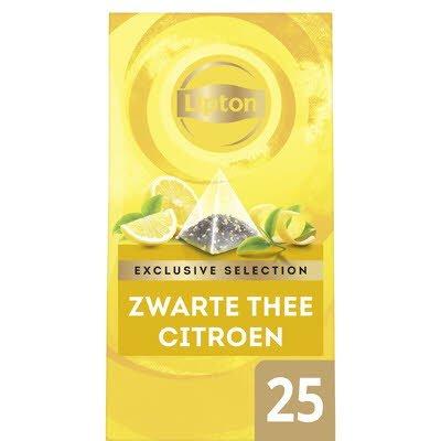 Lipton Exclusive Selection Citroen 25 zakjes