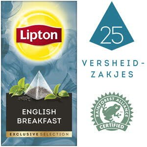 Lipton Exclusive Selection English Breakfast 25 zakjes