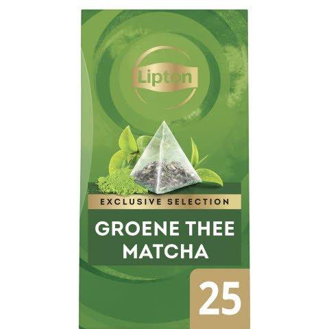 Lipton Exclusive Selection Groene Thee Matcha 25 zakjes -