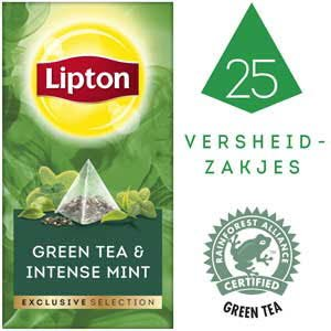 Lipton Exclusive Selection Groene Thee Munt