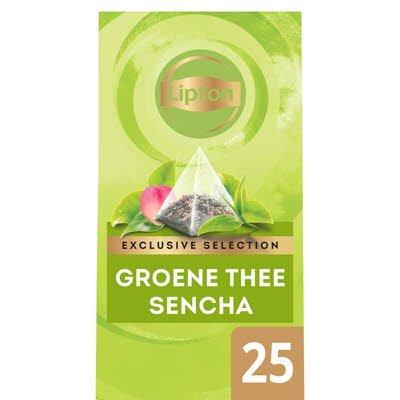 Lipton Exclusive Selection Groene Thee Sencha 25 zakjes -