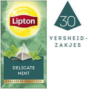 Lipton Exclusive Selection Subtiele Munt 30 zakjes