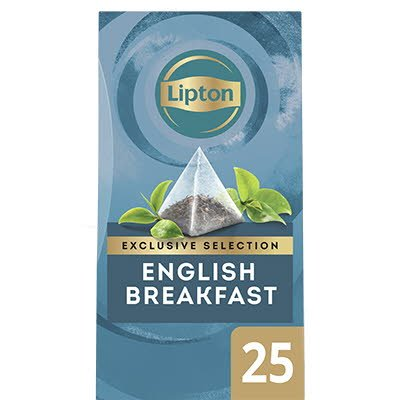 Lipton Exclusive Selection Thee English Breakfast 25 zakjes -