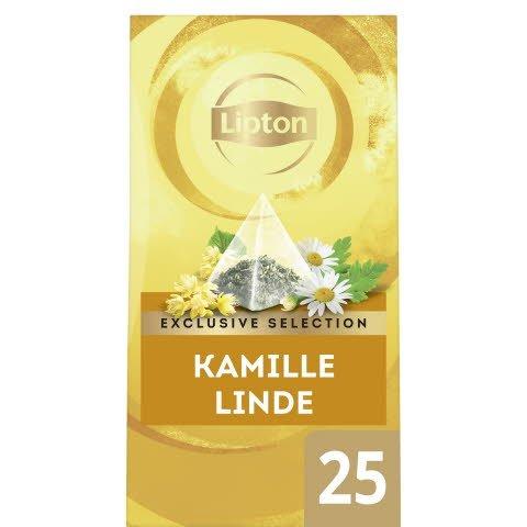 Lipton Exclusive Selection Thee Kamille Linde 25 zakjes -