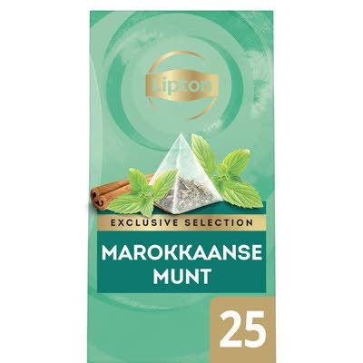 Lipton Exclusive Selection Thee Marokkaanse Munt 25 zakjes -