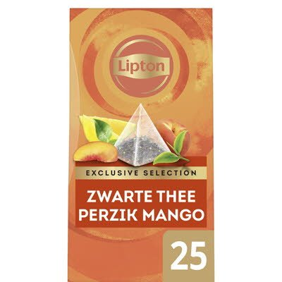 Lipton Exclusive Selection Thee Perzik Mango 25 zakjes -