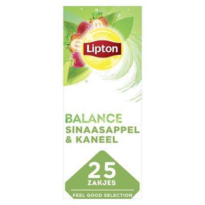 Lipton Feel Good Selection Groene Thee met Rood Fruit 25 zakjes -