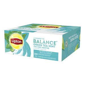 Lipton Feel Good Selection Groene Thee Munt 100 zakjes