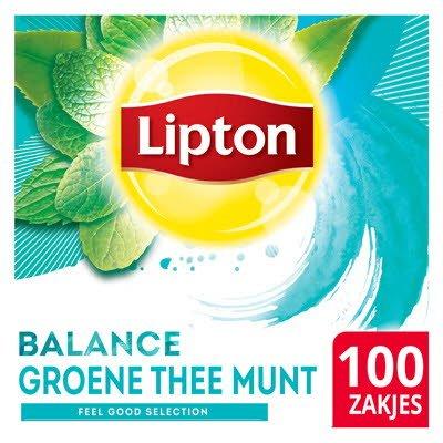Lipton Feel Good Selection Groene Thee Munt 100 zakjes -