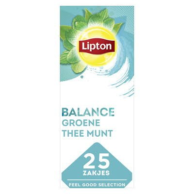 Lipton Feel Good Selection Groene Thee Munt 25 zakjes -