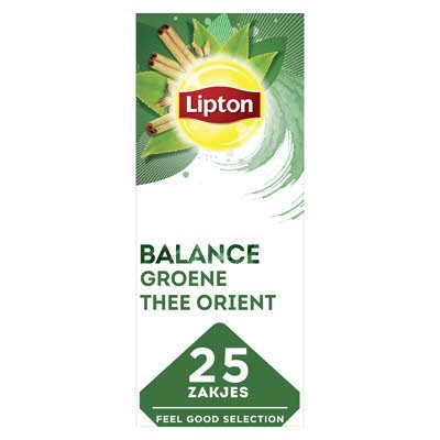 Lipton Feel Good Selection Groene Thee Orient 25 zakjes -