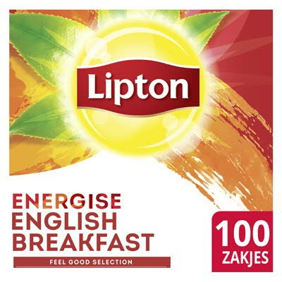 Lipton Feel Good Selection Thee English Breakfast 100 zakjes -