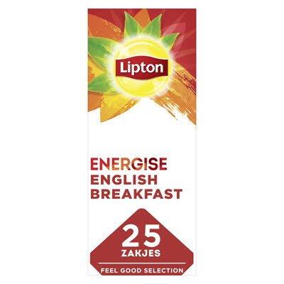 Lipton Feel Good Selection Thee English Breakfast 25 zakje -