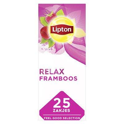 Lipton Feel Good Selection Thee Framboos 25 zakjes -