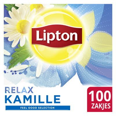 Lipton Feel Good Selection Thee Kamille 100 zakjes -