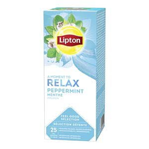 Lipton Feel Good Selection Thee Pepermunt 25 zakjes