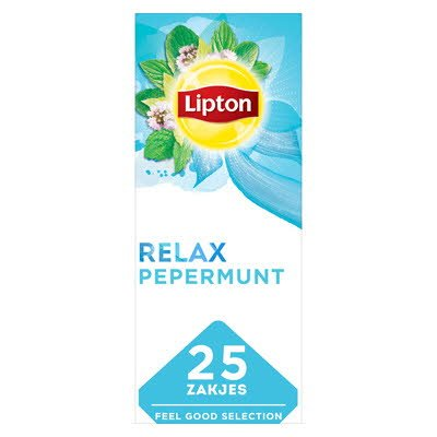 Lipton Feel Good Selection Thee Pepermunt 25 zakjes -