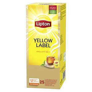 Lipton Feel Good Selection Thee Yellow Label 25 zakjes