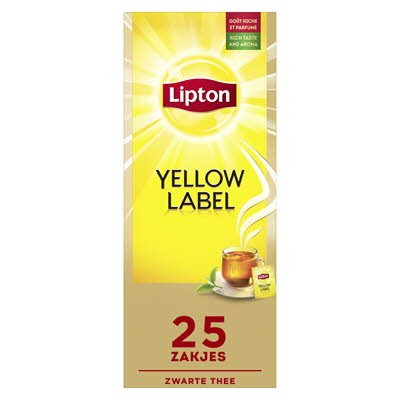 Lipton Feel Good Selection Thee Yellow Label 25 zakjes -