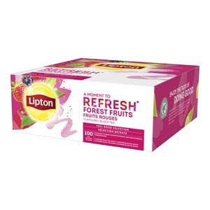 Lipton Feel Good Selection Zwarte Thee Bosvruchten 100 zakjes