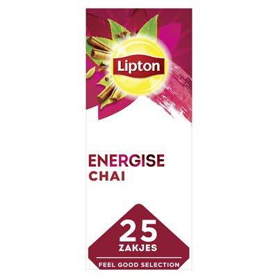 Lipton Feel Good Selection Zwarte Thee Chai 25 zakjes -
