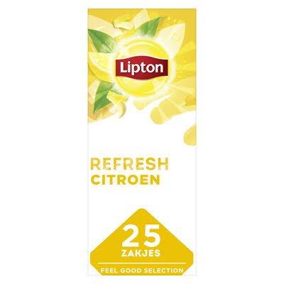 Lipton Feel Good Selection Zwarte Thee Citroen 25 zakjes -