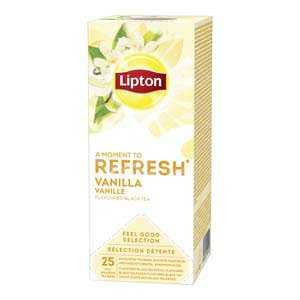 Lipton Feel Good Selection Zwarte Thee Vanille 25 zakjes -