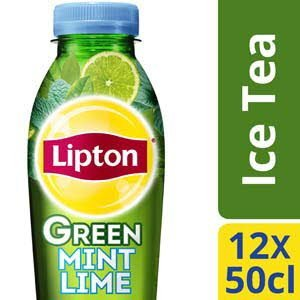 Lipton Ice Tea Green Mint Lime PET 12 x 500 ml