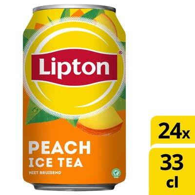 Lipton Ice Tea Peach Original 24 x 330 ml -