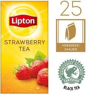 Lipton Thee Professioneel Aardbei 25 zakjes -