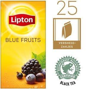 Lipton Thee Professioneel Blauwe Bessen 25 zakjes