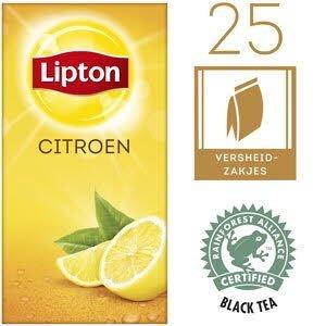 Lipton Thee Professioneel Citroen 25 zakjes