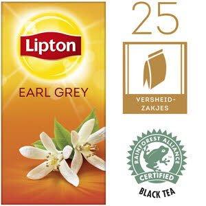 Lipton Thee Professioneel Earl Grey 25 zakjes