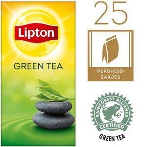 Lipton Thee Professioneel Groene Thee 25 zakjes