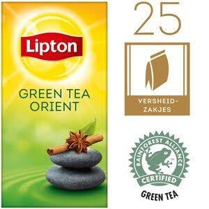 Lipton Thee Professioneel Groene Thee Orient 25 zakjes