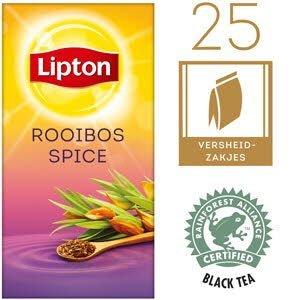 Lipton Thee Professioneel Rooibos Spice 25 zakjes