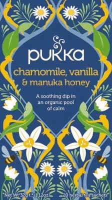 Pukka Chamomile Vanilla & Manuka Honey 20 zakjes -