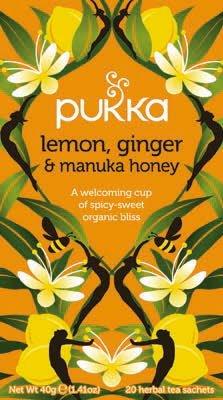Pukka Lemon Ginger & Manuka Honey 20 zakjes -