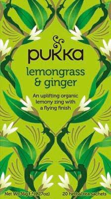 Pukka Lemongrass & Ginger 20 zakjes -