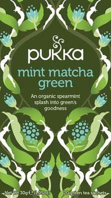 Pukka Mint Matcha Green 20 zakjes -