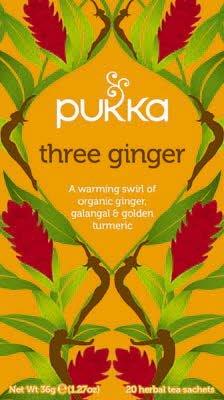 Pukka Three Ginger 20 zakjes -